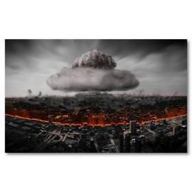 Αφίσα (πυρηνική έκρήξη, ατομική βόμβα)